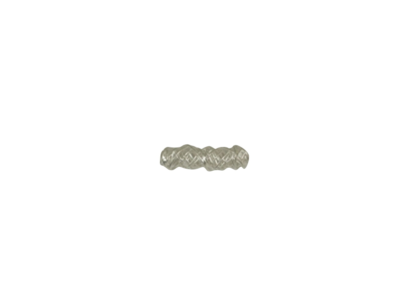 SILVER 925° TUBE WIRE 7,5x25mm 1,84g/PIECE (4PIECES THE PACK)