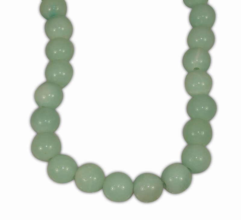 AMAZONITE BALL 12mm WITH 2,5mm HOLE