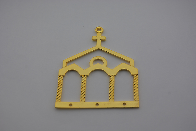 CHURCH 63x75mm
