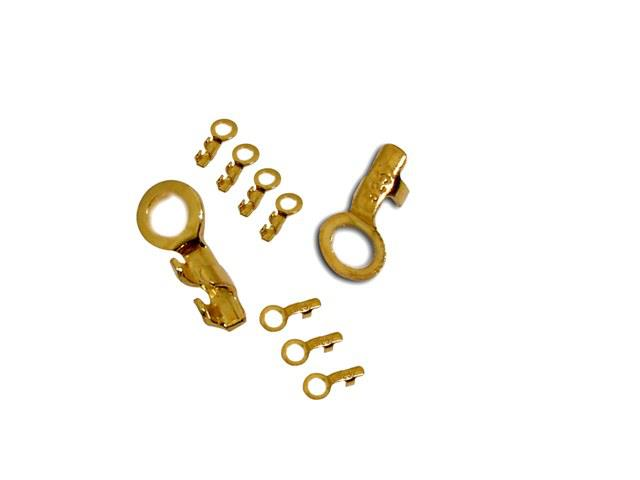 925° SILVER GOLD PLATED LUG 0.45mm 0,04g/PIECE (80PIECES PER PACK)