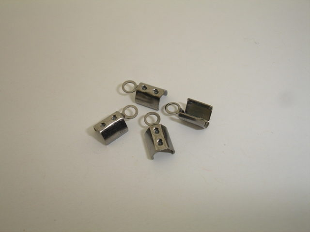 925° SILVER RUTENIO PLATED LUG 3mm 0,2g/PIECE(20 PIECES PER PACK)