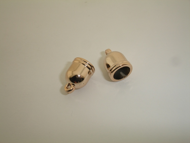 PINK GOLD PLATED LUG 9mm