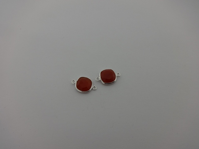 925° SILVER CARNELIAN 11x17mm (2PIECES PER PACK)
