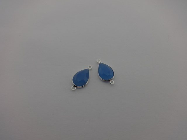 925° SILVER CALCEDONY 10x22mm (1PIECES PER PACK)