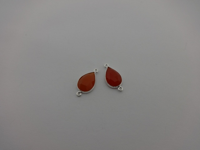 925° SILVER CARNELIAN 10x22mm (1PIECES PER PACK)