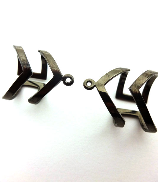 BLACK PLATED RING (BRASS)