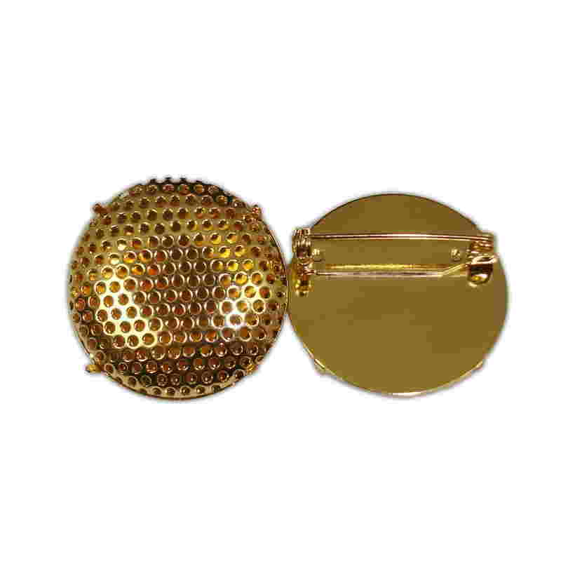 BROOCH 29mm (BRASS)