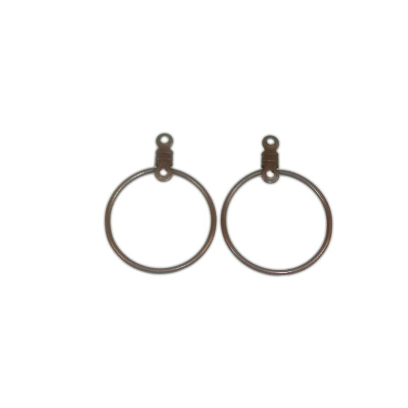 EARRING 20x27mm