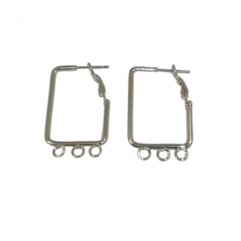 EARRING 21x33mm