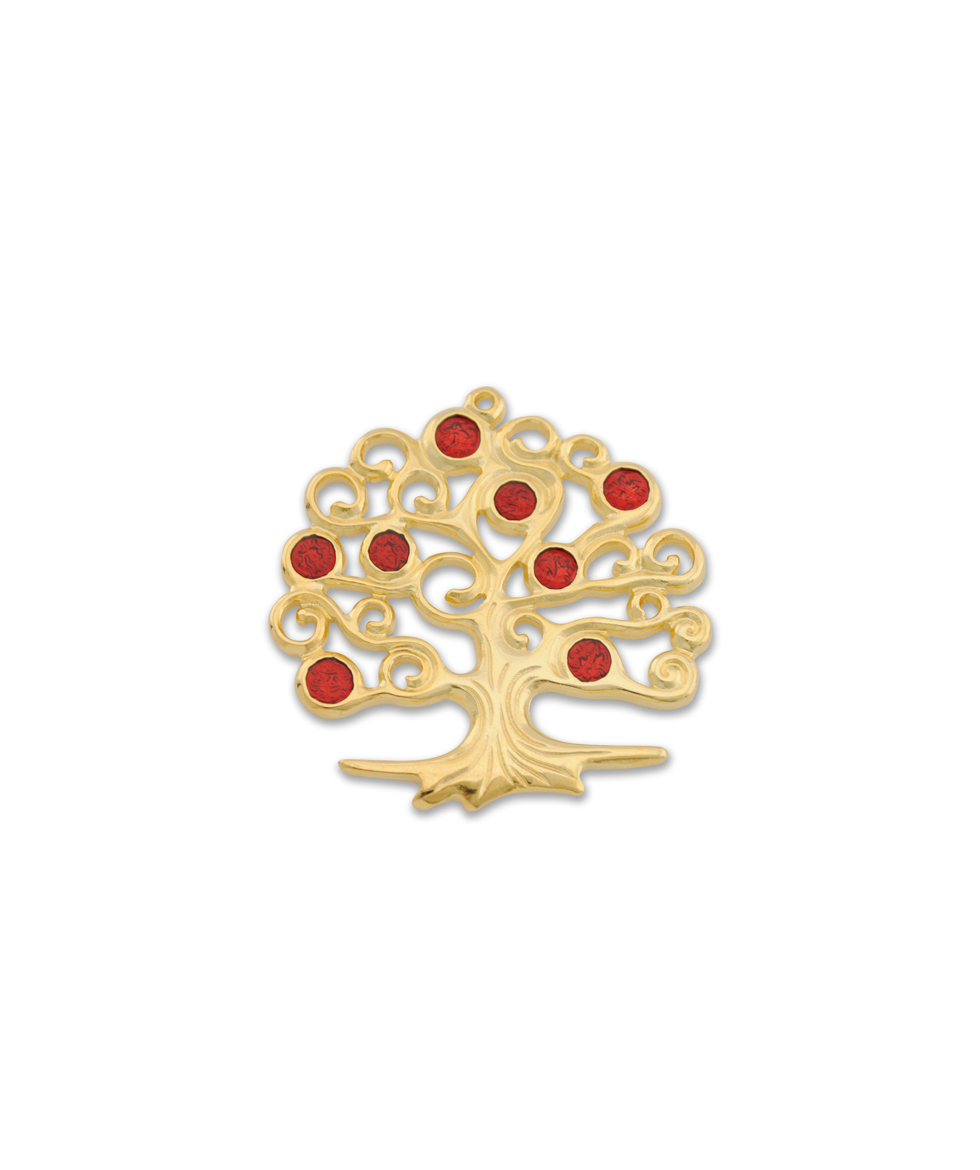 TREE OF LIFE (RED) 58x56mm