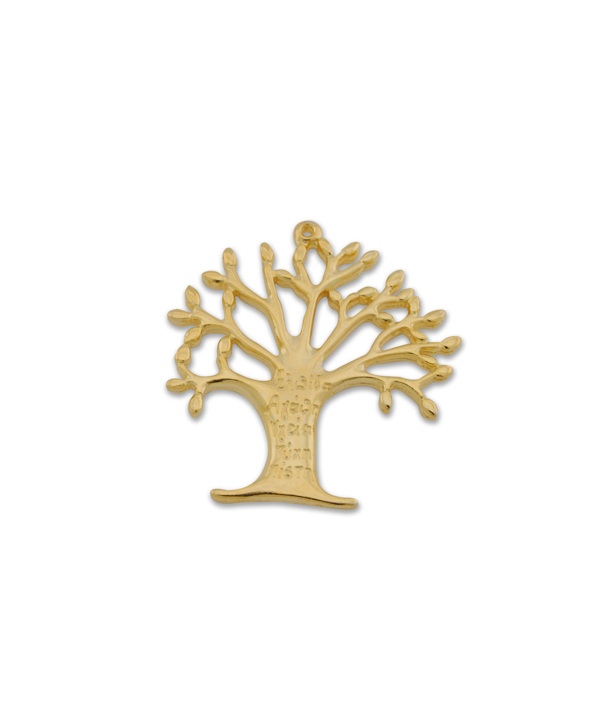 TREE OF LIFE  GOLD PLATED 58x56mm