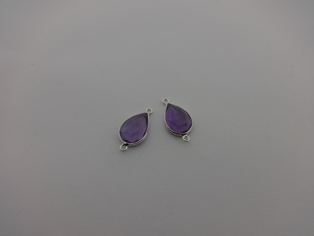 925° SILVER AMETHYST 10x22mm (1PIECES PER PACK)