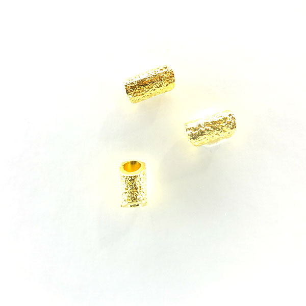 GOLD PLATED TUBE 6x12mm
