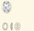 OVAL DESIGN CONICAL  30MMx22MM