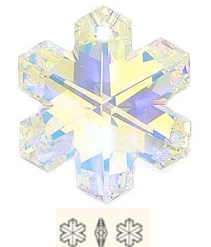 SNOWFLAKE  25MM