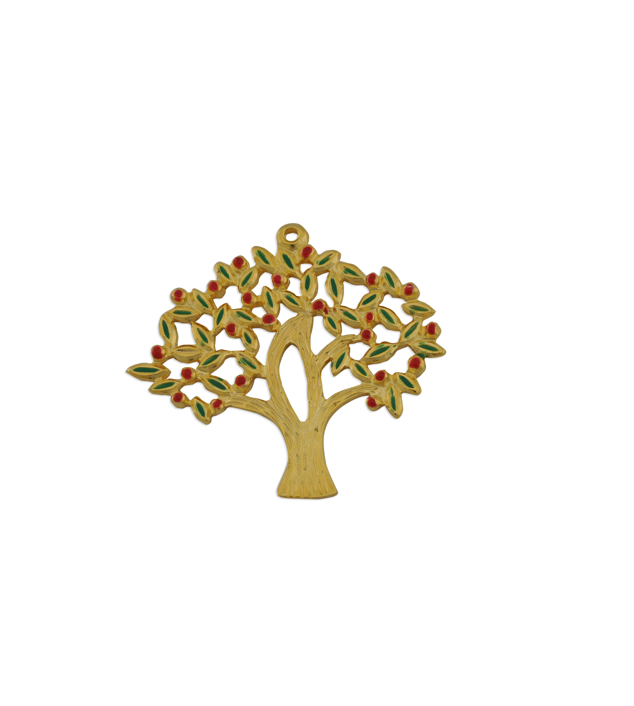 TREE GOLD PLATED WITH ENAMEL 46mm